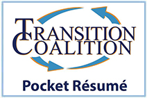 Transition Coalition Pocket Resume